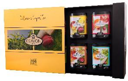 Picture of Luxury Pyramid - Flavored Black Tea Gift Box