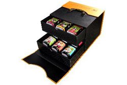 Picture of Luxury Pyramid Regional Tea and Luxury Pyramid Flavored Black Tea Gift Box