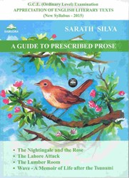 Picture of O/L : A Guide To Prescribed Prose (New Syllabus 2015)