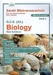 Picture of G.C.E. (A/L) : Biology (New Syllabus) - More Practice (Book 2)