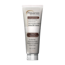 Picture of Prevense Grape Fruit Scrub & Cleanser For Oily Skin