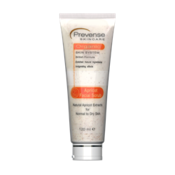 Picture of Prevense Apricot Facial Scrub For Normal To Dry Skin