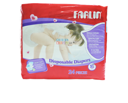 Picture of Farlin Baby Diaper 24 PCS-XLarge