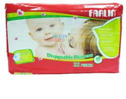 Picture of Farlin Baby Diaper 32 PCS-Medium
