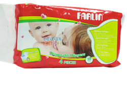 Picture of Farlin Baby Diaper 4 PCS-Medium