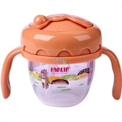 Picture of Farlin Gulu Straw Drinking Sippy Cup 120ml