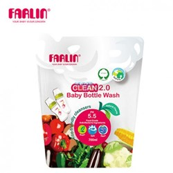 Picture of Farlin Clean 2.0 Baby Liquid Cleanser Refill Pack 700ml