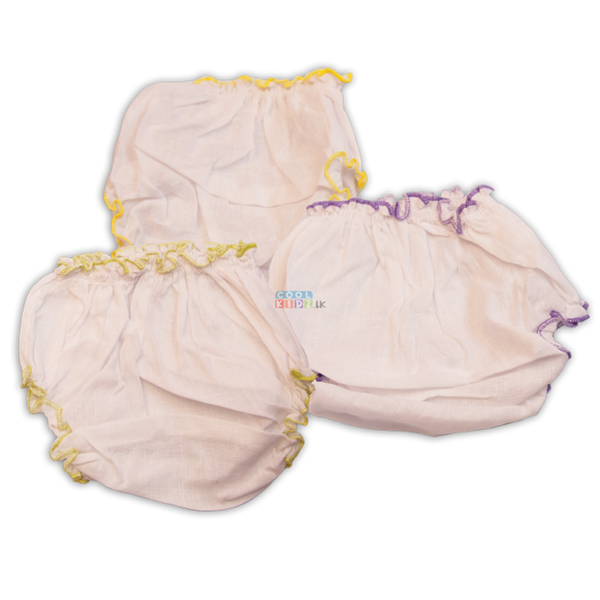 Picture of Kids Joy Plain Baby Panty (3 Pieces)