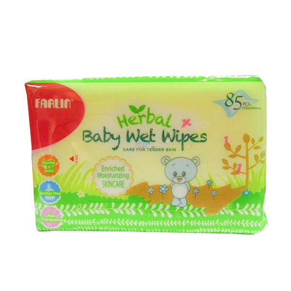 Picture of Farlin Baby Wet Wipes (Refill) Skincare