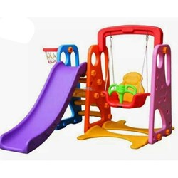 Picture of 3 In 1 Mini Playground Set (Mix Colour) - 17246