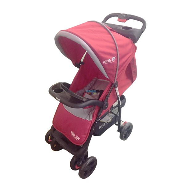 Picture of Kids Joy Trendy Stroller - Red