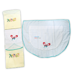 Picture of Kids Joy 2 Half Moon Pillow Cases - YE