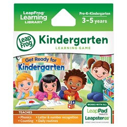 Picture of LeapFrog Learning Game: Get Ready for Kindergarten Learning Game Pack