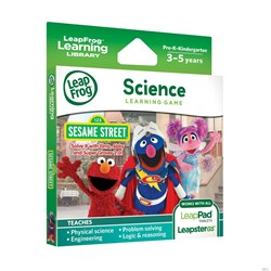 Picture of LeapFrog Learning Game: Sesame Street Solve it with Elmo