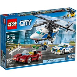 Picture of Lego City Police High-speed Chase 60138