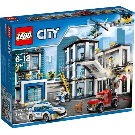 Picture of Lego City Police Police Station 60141
