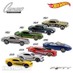 Picture of Hot Wheels - CAMARO 50TH ASSORTMENT