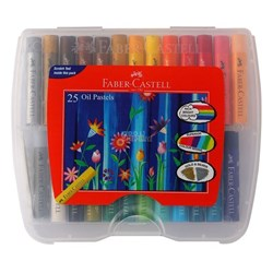 Picture of Faber Castell 25 Oil Pastels 124025