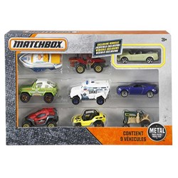 Picture of Hot Wheels Matchbox 9-Car Gift Pack