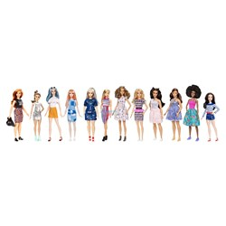Picture of Assortment Barbie Fashionistas Doll