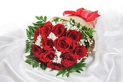 Picture of Red Roses Arrangement (12 nos)