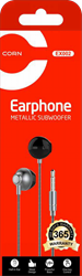 Picture of CORN Wired Earphone (Metallic Subwoofer) - EX002