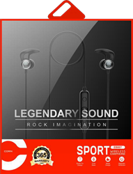 Picture of CORN Sport Wireless Earphone (Legendary Sound - Rock Imagination) - EB007