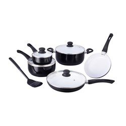 Picture of Regnis Ceramic Non-Stick Cookware Set - 10Pcs