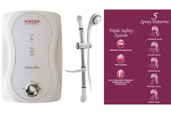 Picture of Singer Instant Shower Heater - Ultra Slim (White)
