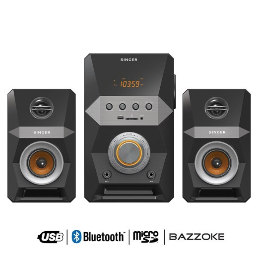 Picture of Singer Mini Hi Fi Systems with Bluetooth 140 WRMS