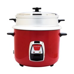 Picture of Singer Rice Cooker Red 1.8L