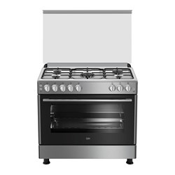 Picture of Beko Stainless Steel Gas Oven, 5 Burners