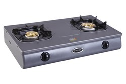 Picture of Singer Gas Burner Table Top (2 Burners | Fully Teflon Coated)