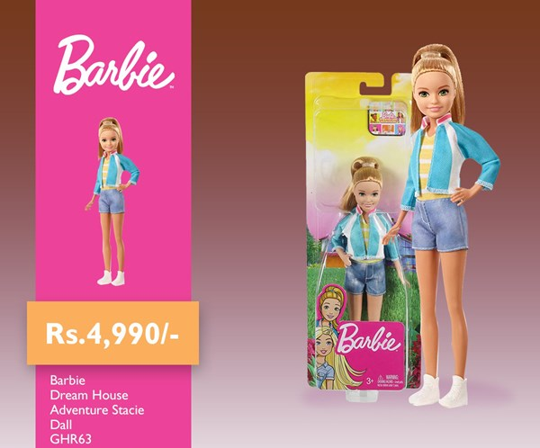 Picture of Barbie Dream house Adventure Stacie Doll