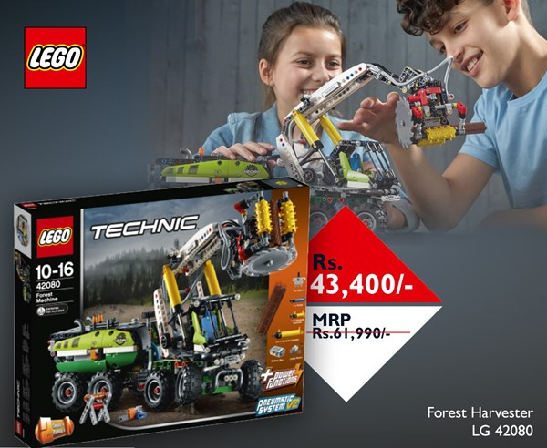 Picture of Lego Forest Harvester