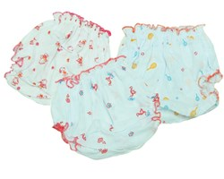 Picture of Kids Joy Printed Baby Panty (3 Pieces)