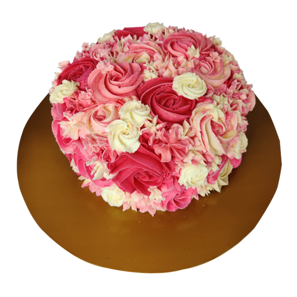 Picture of Full Floral Cake Design 1