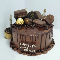 Picture of Drip Cake - Chocolate