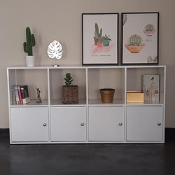 Picture of Hex Book Rack - Horizontal