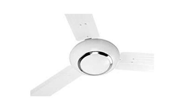 "Picture of ORIENT Carina 56"" Ceiling Fan (White with Silver Ring)"