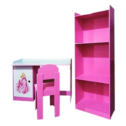 Picture of Table, Chair and Rack (EDC 02) - Pink