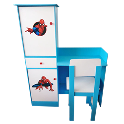 Picture of Table and Chair (EDC 04) - Blue