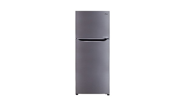 Picture of LG Smart Inverter Refrigerator 260L - Shiny Steel - 02