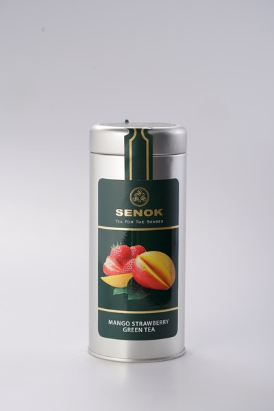 Picture of Mango strawberry green tea